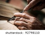 Hands Of The Craftsman Carve A...