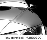 my own 3d car design | Shutterstock . vector #92800300