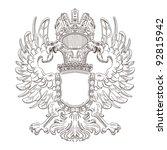 coat of arms | Shutterstock .eps vector #92815942