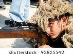 bangkok   january 14   sniper... | Shutterstock . vector #92825542