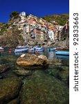 port of riomaggiore  cinque... | Shutterstock . vector #92833663