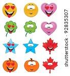 set of emoticons   st....
