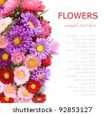 Summer Flowers Background...
