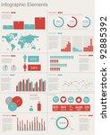detail infographic vector... | Shutterstock .eps vector #92885392