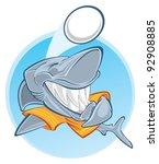 shark | Shutterstock .eps vector #92908885