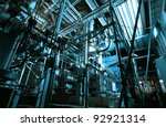 industrial zone  steel... | Shutterstock . vector #92921314