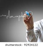 medicine  hand drawing | Shutterstock . vector #92924122