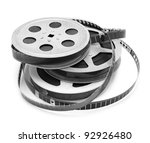 old film strip isolated on... | Shutterstock . vector #92926480