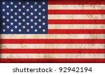 american flag background | Shutterstock . vector #92942194