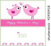 heart valentines day background ... | Shutterstock .eps vector #92950918