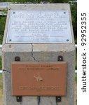 Fort Laramie Bridge historic marker