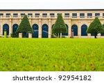building in wat phra kaew  ... | Shutterstock . vector #92954182