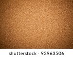 Brown Cork Texture. Close Up.