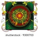 elaborate design | Shutterstock .eps vector #9300703