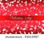 hearts | Shutterstock . vector #93013987