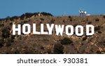 hollywood hillside sign   Shutterstock . vector #930381