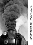 Detail Of Vintage Steam Engine