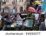 chernivtsi ukraine jan.15 ... | Shutterstock . vector #93050377