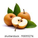 asian nashi pear | Shutterstock . vector #93055276