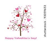 happy valentine's day card | Shutterstock . vector #93059653