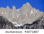 Mount Whitney  Eastern Sierra...