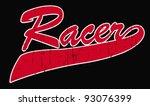 racer | Shutterstock .eps vector #93076399