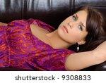 portrait of a beautiful sexy... | Shutterstock . vector #9308833