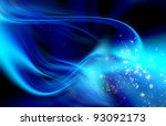 abstract blue digital background | Shutterstock . vector #93092173