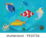 happy fish | Shutterstock . vector #9310726