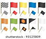 collection of formula one... | Shutterstock .eps vector #93125809