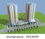 3d building | Shutterstock . vector #9313699
