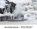 Frozen Waterfalls At Gooseberr...