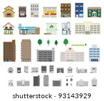 building   shop | Shutterstock .eps vector #93143929