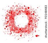 valentine frame design  place...