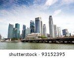 Singapore Skyline Of Financial...