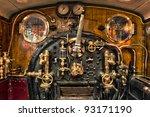 Engine Room On The Steam Train