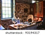 vintage dentist office | Shutterstock . vector #93194317
