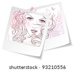 vector illustration of beauty...