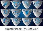 set of zodiac symbols | Shutterstock .eps vector #93225937
