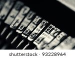 Close Up Of The Letters On An...