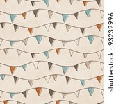 Seamless Bunting Flags...