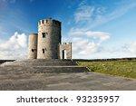 obriens tower on irish cliffs... | Shutterstock . vector #93235957