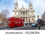 St Paul Cathedral  London  Uk.