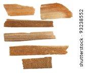 pieces of broken planks... | Shutterstock . vector #93238552