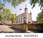 tower of london   part of the... | Shutterstock . vector #93245923