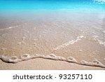 Caribbean Clear Beach Sand...