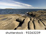 Rocky Shore Of Pacific Ocean I...
