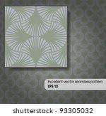 excellent vector seamless... | Shutterstock .eps vector #93305032