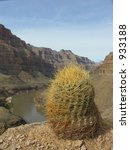 a view of the grand canyon with ...   Shutterstock . vector #933188