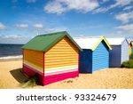 Bathing Boxes On Brighton Beac...